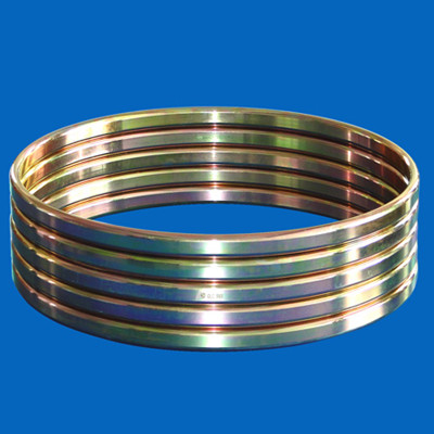 Octagonal ring joint gasket coated Cadmium