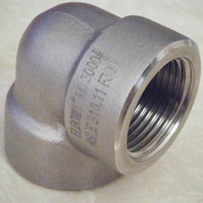 90 Degree Threaded Elbow 1/8-4 Inch Class 3000-9000
